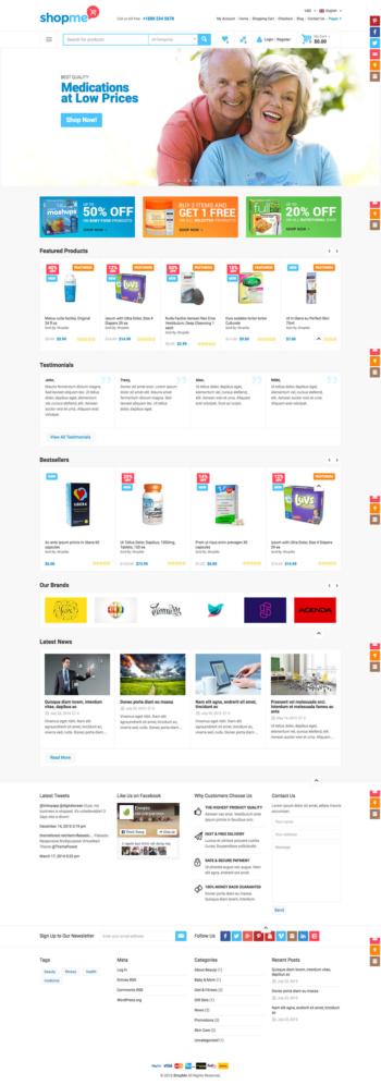 Thiết kế web bán hàng thực phẩm chức năng