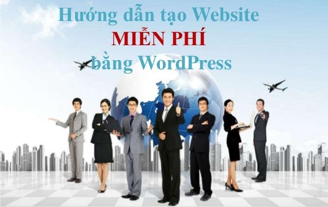 Hướng dẫn cách tạo website bằng WordPress