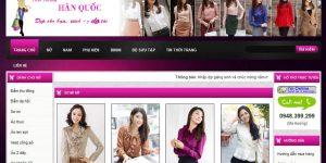 Thiết kế website thời trang quần áo giày dép