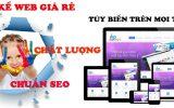 Thiết kế web giá rẻ tại Tp Hồ Chí Minh