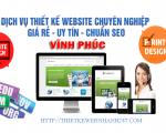 Thiết kế web giá rẻ tại Vĩnh Phúc