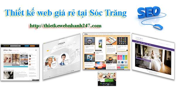 Thiết kế web giá rẻ tại Sóc Trăng