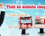 Thiết kế website nhanh uy tín chuyên nghiệp tại TP Hồ Chí Minh