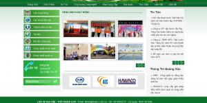 Thiết kế web tổ chức – hiệp hội đẹp