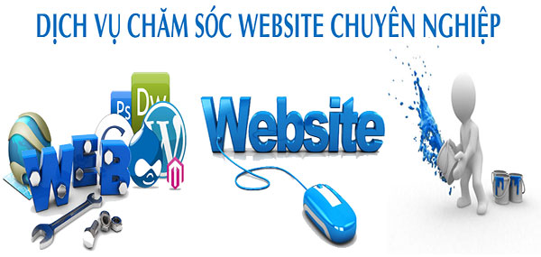 Dịch vụ quản trị website, Chăm sóc website giá rẻ, uy tín chuyên nghiệp