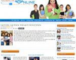 Thiết kế website ôn thi trực tuyến