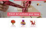 Thiết kế web quà tặng đẹp giá rẻ