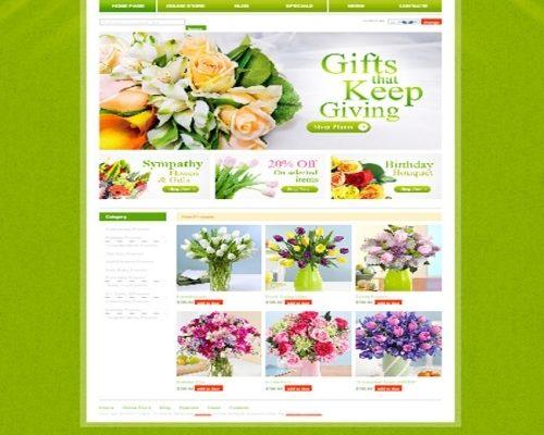 Thiết kế web shop hoa tươi giá rẻ