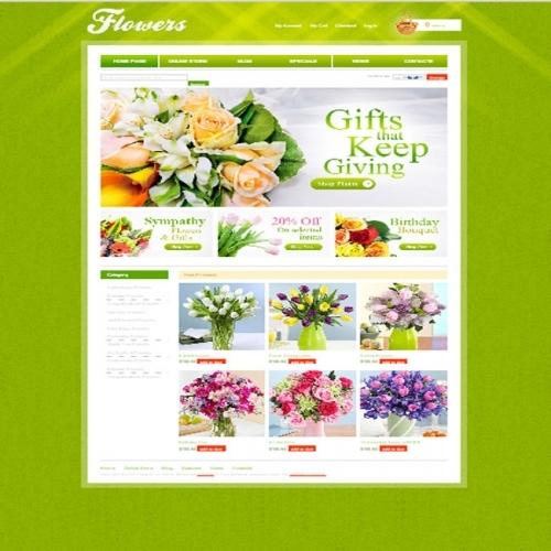 Thiết kế web shop hoa tươi