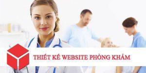Thiết kế website phòng khám, bệnh viện, chăm sóc sức khỏe