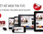 Thiết kế web tin tức , báo chí online chuyên nghiệp