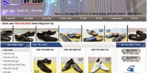 Thiết kế web bán giày dép