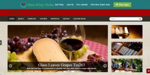 Thiết kế web kinh doanh rượu đẹp chuyên nghiệp