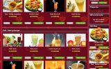 Thiết kế website quán ăn – nhà hàng