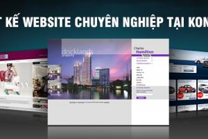 Thiết kế web giá rẻ tại Kon Tum