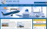 Thiết kế website bán vé máy bay giá rẻ