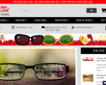 Thiết kế website shop kính mắt