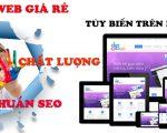 Thiết kế website giá rẻ tại Hà Nội