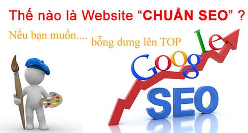 Thiết kế web chuẩn SEO chuyên nghiệp