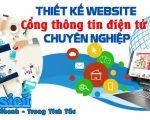 Thiết kế web cổng thông tin điện tử