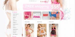 Thiết kế web bán đồ lót giá rẻ