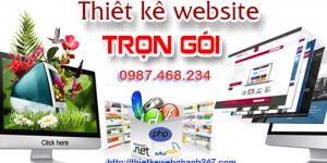 Thiết kế web trọn gói chuyên nghiệp