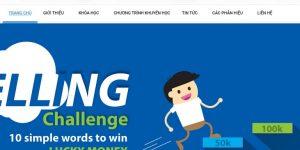 Thiết kế web trung tâm học tiếng anh giá rẻ