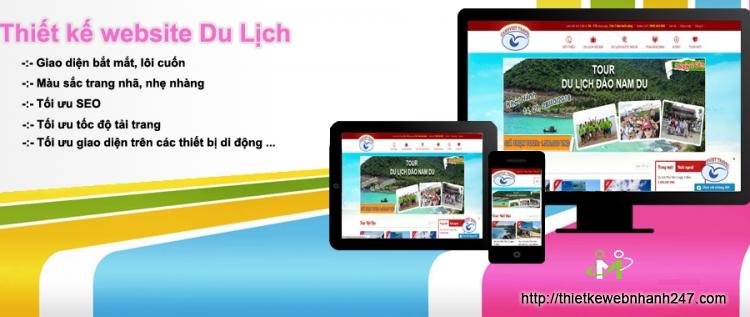 Những điểm cần thiết khi thiết kế webite du lịch chuyên nghiệp