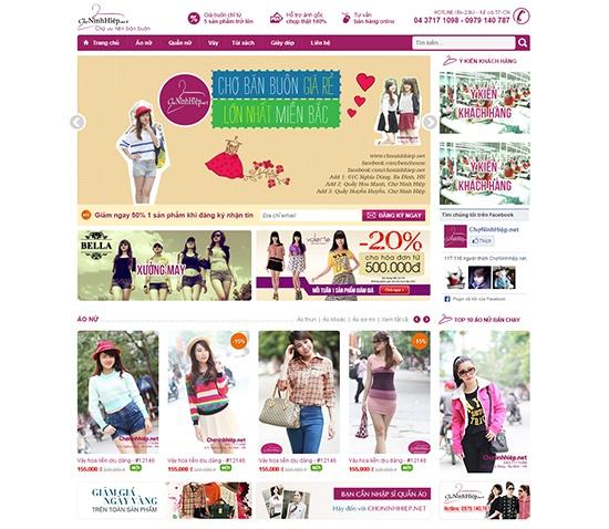 Thiết kế website bán lẻ chuyên nghiệp chuẩn SEO