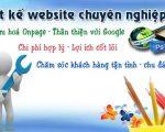 Thiết kế web giá rẻ tại Quận Hà Đông – Hà Nội