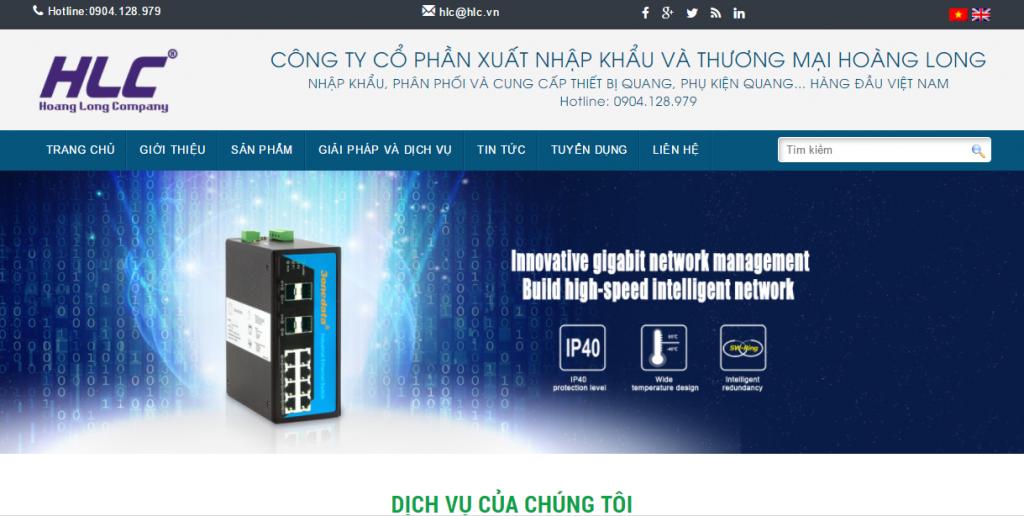 Thiết kế website bán thiết bị công nghệ