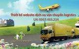 Thiết kế website vận chuyển logistics chuyên nghiệp, chuẩn SEO