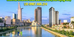 Thiết kế website mua bán nhà đất chuyên nghiệp giá rẻ