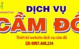 Thiết kế web dịch vụ cầm đồ