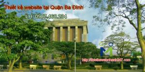 Thiết kế web giá rẻ tại Quận Ba Đình – Hà Nội