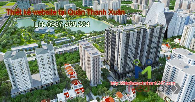 Thiết kế website tại Quận Thanh Xuân Hà Nội
