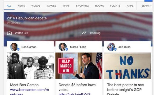 Cách thức Google's Candidate Cards  như thế nào?