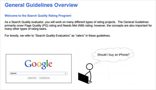 Tại sao google đã cập nhật nguyên tắc về chất lượng tìm kiếm