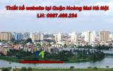 Thiết kế web giá rẻ tại Quận Hoàng Mai – Hà Nội