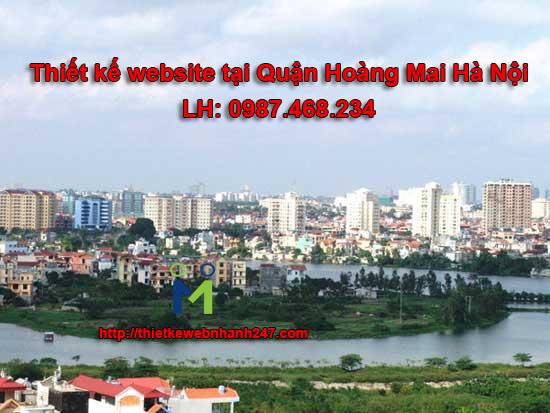 Thiết kế web giá rẻ tại quận Hoàng Mai Hà Nội