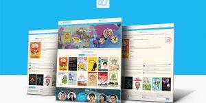 Thiết kế website nhà xuất bản, tác giả