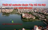 Thiết kế website giá rẻ tại Quận Tây Hồ – Hà Nội