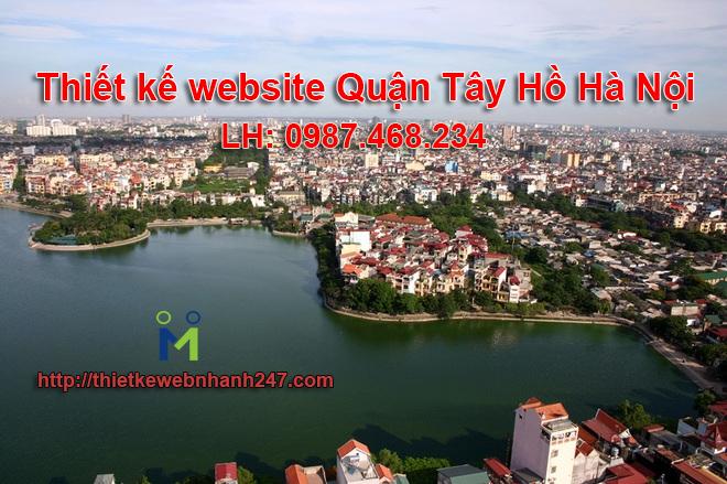 Thiết kế website giá rẻ tại quận tây hồ hà nội