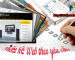 Thiết kế website theo ý tưởng sáng tạo đẹp chuyên nghiệp