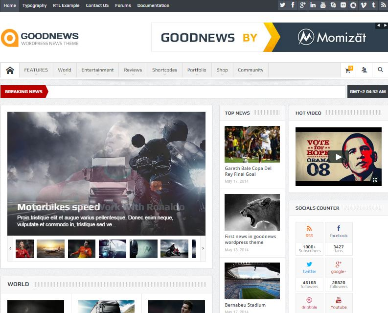 Good News theme wordpress