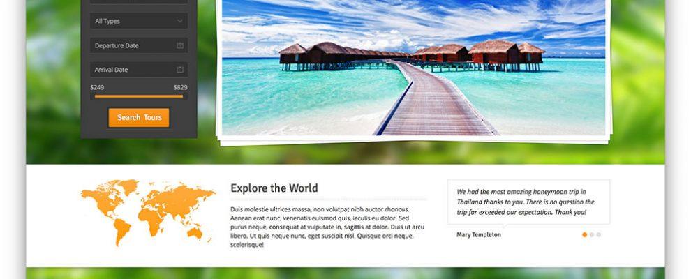 Top 6 mẫu website du lịch đẹp chuyên nghiệp 2017