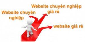 Sự khác biệt giữa thiết kế web chuyên nghiệp và làm web giá rẻ