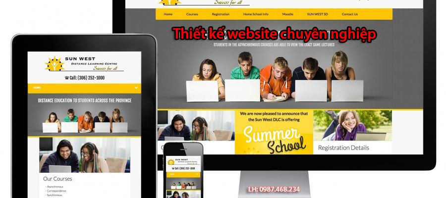 Tìm hiểu về website, Thiết kế web