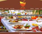 Thiết kế website ẩm thực quán ăn đẹp, chuyên nghiệp