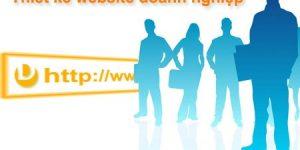 Những sai lầm nên tránh khi thiết kế website doanh nghiệp